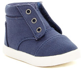 Toms Navy Paseo High Top Sneaker (Baby & Toddler)