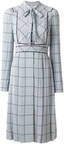 Valentino bow tie printed dress - women - Silk - 40