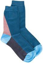 Paul Smith paneled socks