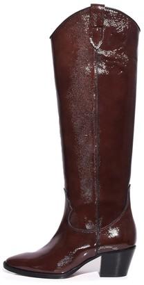 Paris Texas Naplak High Camperos Boot in Brown