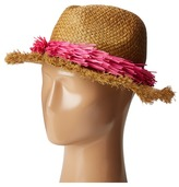 Echo Palm Fringe Panama Beach Hat