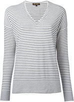 Loro Piana breton V-neck sweater - women - Cashmere - L