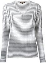 Loro Piana breton V-neck sweater - women - Cashmere - S