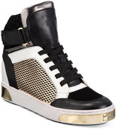 MICHAEL Michael Kors Pia High-Top Leather Sneakers