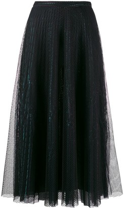 Marco De Vincenzo fishnet skirt
