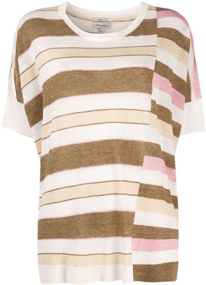 Woolrich loose-fit striped T-shirt