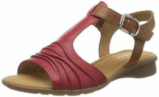 Gabor 46.064999999999998 Womens Ankle Strap Sandals