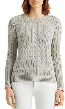 Ralph Lauren Ralph Cable Knit Crewneck Sweater