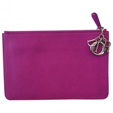 Christian Dior clutch sleeve