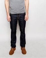 Nudie Jeans Grim Tim Slim Fit Dry Wash Ring