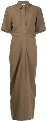Nanushka Maak short-sleeved shirt dress