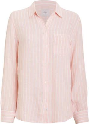 Rails Charli Striped Button Front Shirt