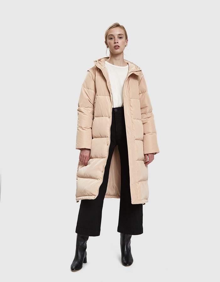 Ganni Whitman Long Puffer Coat