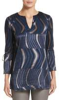 Lafayette 148 New York Sela Ingenue Devore Blouse