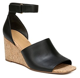 Vince Women's Kensey Ankle-Strap Wedge Sandals