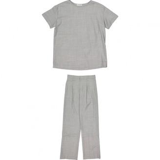 Protagonist Grey Wool Top for Women