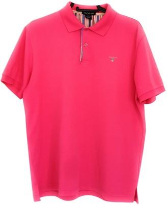 Gant Pink Cotton Polo shirts