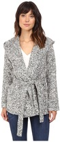 BB Dakota Jacelyn Tweed Wrap Jacket