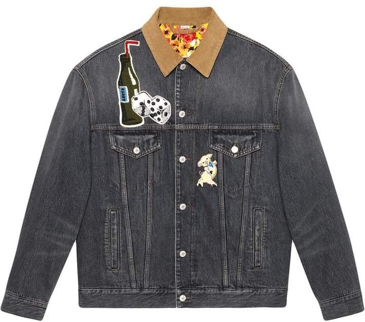 5ee6991b4d59 Gucci(グッチ) ブラック メンズ 大きいサイズ コート - ShopStyle(ショップスタイル)