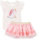 Baby Starters Pink Unicorn Bodysuit & Tutu - Infant