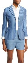 Loro Piana Shannen Striped Jersey Jacket, Multi