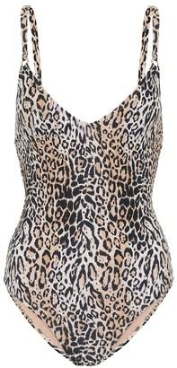 Melissa Odabash Cyprus cheetah-print swimsuit