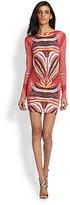 Mara Hoffman Phoenix Scoop-Back Mini Dress