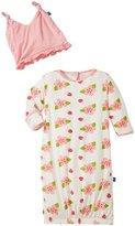 Kickee Pants Layette Gown Converter Set (Baby) - Natural Ladybug - Preemie
