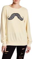 Wildfox Couture Mustachio Pullover