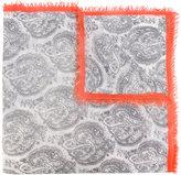 Bajra contrast scarf - women - Wool/Silk - One Size