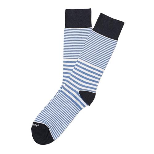 Etiquette Clothiers - Sailor Stripe Socks - Everest