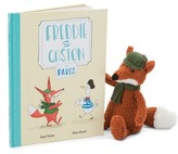 Jellycat Infant 'Freddie & Gaston In Paris' Book & Plush Toy