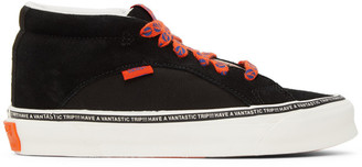 Vans Black and Orange Taka Hayashi Edition Snake Trail LX Sneakers