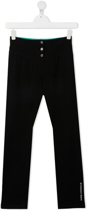 Givenchy Kids TEEN striped waistband track pants