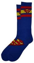 Bioworld Superman Athletic Socks