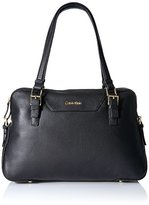 Calvin Klein Permanent Quilted Pebble Satchel