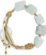 Found Raw Aqua Bracelet