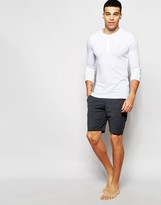 Farah Jersey Lounge Shorts In Slim Fit