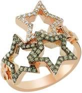 Bee Goddess Sirius Star Light Diamond Ring