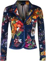Flowerland Silk Jacket