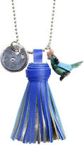 Undercover Personalised Parrot Charm Necklace And Tassel