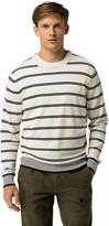 Tommy Hilfiger Custom Fit Stripe Crewneck