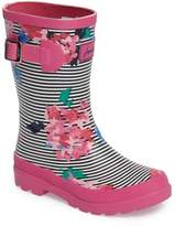 Joules Welly Printed Waterproof Rain Boot