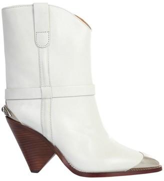Isabel Marant Lamsy Toe Cap Ankle Boots