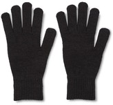 Merona Men's Tech Touch Gloves Black One Size