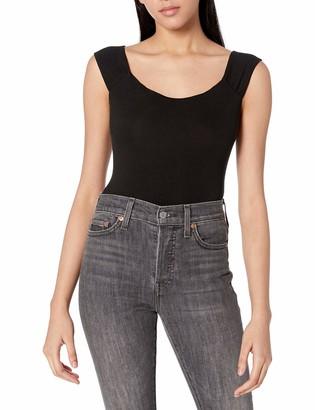 ASTR the Label Women's Simple Sleeveless Off The Shoulder Jessa Bodysuit