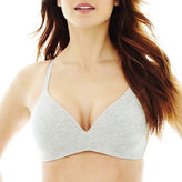 JCPenney Ambrielle Cotton-Blend Wirefree Bra