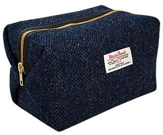 Harris Tweed Herringbone Box Holdall