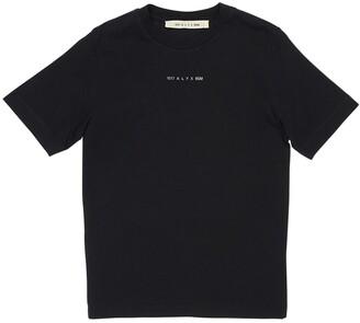 Alyx Logo Detail Cotton Jersey T-Shirt