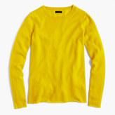 J.Crew Italian cashmere long-sleeve T-shirt